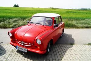 Rostlaube Dresden Erlebnisfahrt trabi DDR Trabant 500